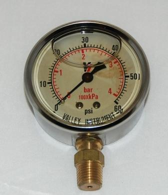 Gauge 0 - 60 psi - Water Recycling System